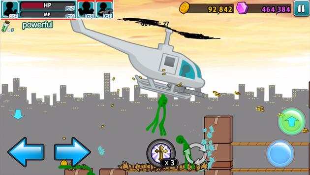 Anger of stick 5 : zombie screenshot 1