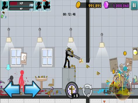 Anger of stick 5 : zombie  (스틱맨의 분노 5 : 좀비) 스크린샷 14
