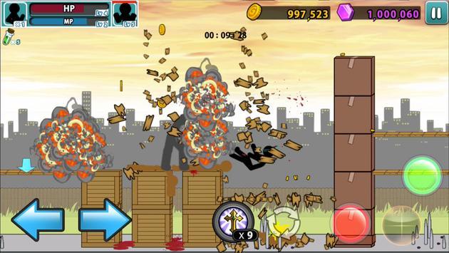 Anger of stick 5 : zombie  (스틱맨의 분노 5 : 좀비) 스크린샷 2