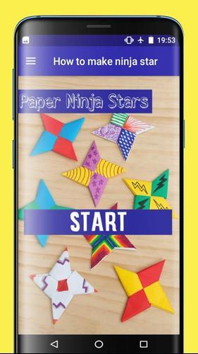 Origami Ninja Star Instructions | 500x281