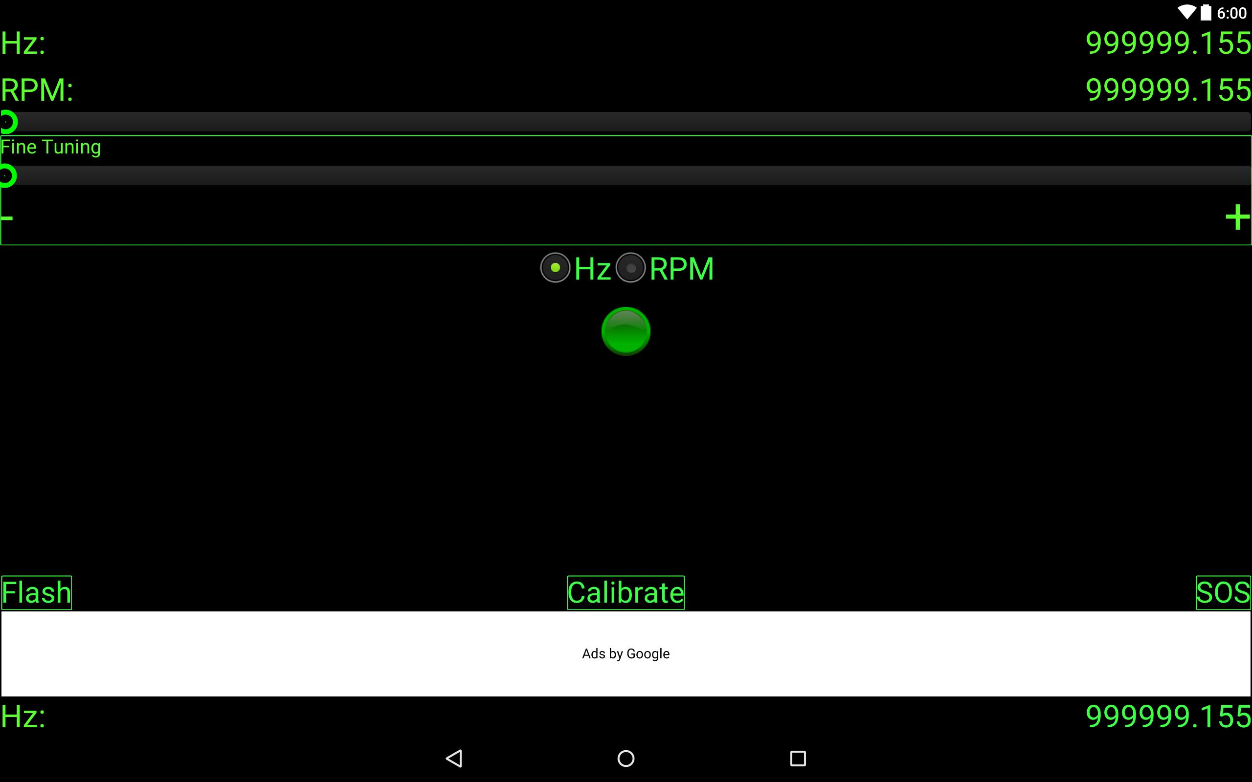 Hz To Rpm >> Strobo Rpm Hz Light Free For Android Apk Download