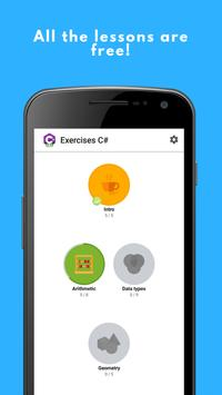 Exercises C# screenshot 1
