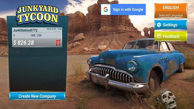 Junkyard Tycoon - Car Business Simulation Game poster