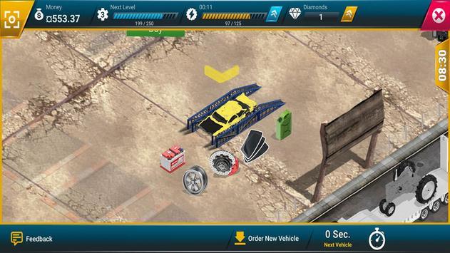 Junkyard Tycoon - Car Business Simulation Game screenshot 2