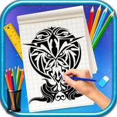 Learn to Draw Tribal Tattoos simgesi