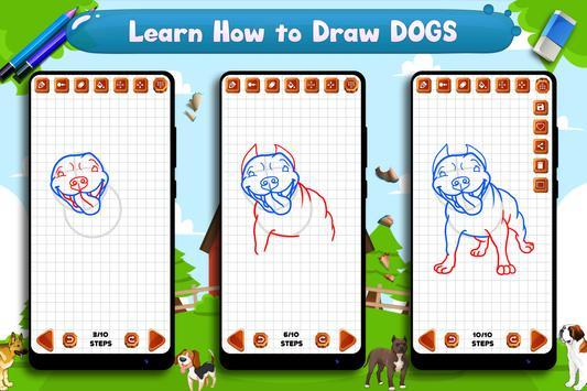 Learn to Draw Dogs screenshot 15