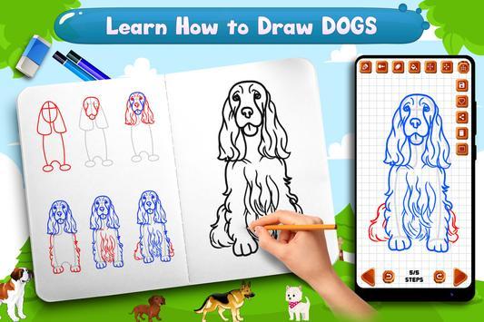 Learn to Draw Dogs screenshot 4