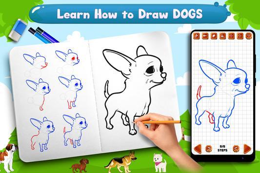 Learn to Draw Dogs screenshot 6