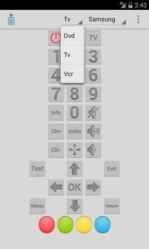 IR Remote screenshot 1