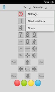 IR Remote screenshot 3