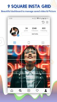 9 square insta grid photo for Instagram screenshot 5
