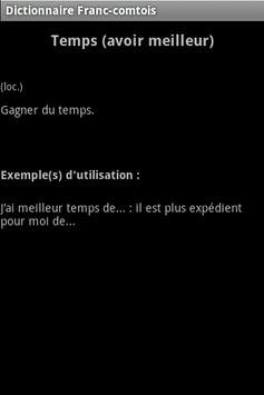Patois Franc-Comtois screenshot 1