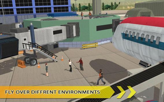 City Airport Super Flights 3D screenshot 2