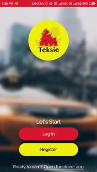 Teksie Driver poster