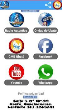 CMB Radio Autentica Ubaté screenshot 1