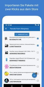 Verfolgen Sie Ihre Pakete - 1Track Screenshot 3