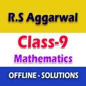 RS Aggarwal Class 9 Math Solution icon