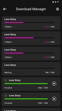 1 Schermata MP3 Music Downloader