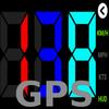 GPS HUD عداد السرعة أيقونة