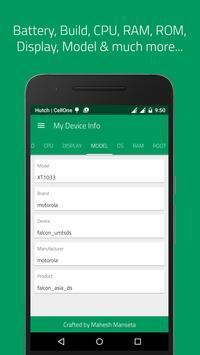 My Device Info 스크린샷 3