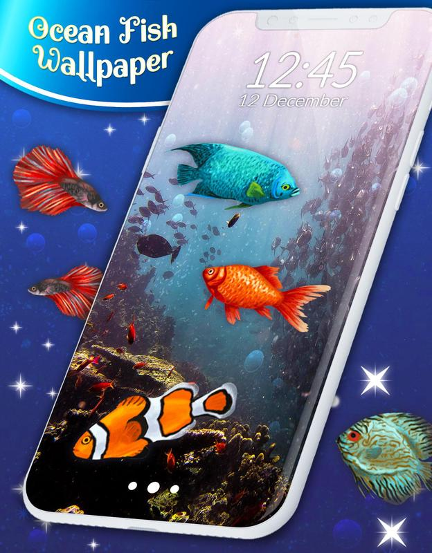 ocean fish hd live wallpaper for android apk download