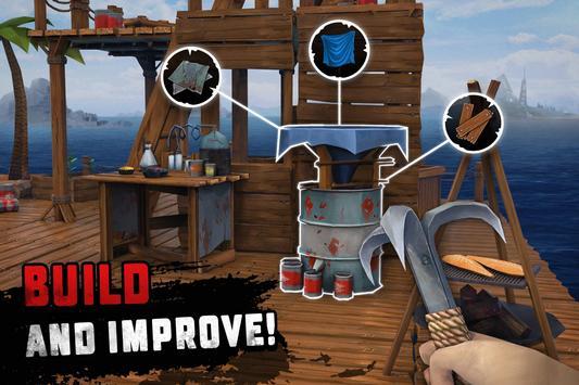 Raft Survival: Ocean Nomad - Simulator screenshot 4