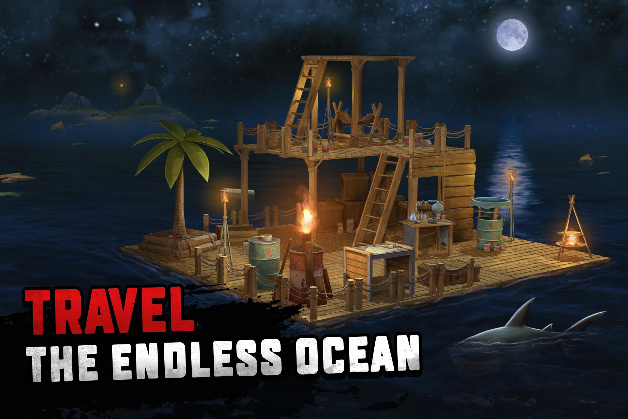 Raft Survival Ocean Nomad Simulator For Android Apk Download