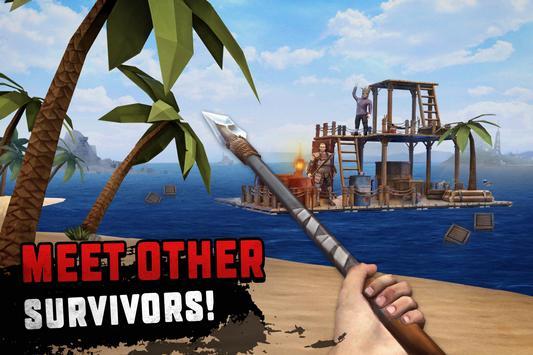 Raft Survival: Ocean Nomad - Simulator screenshot 10