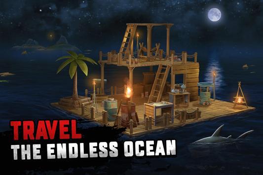 Raft Survival: Ocean Nomad - Simulator screenshot 14