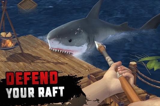 Raft Survival: Ocean Nomad - Simulator screenshot 1