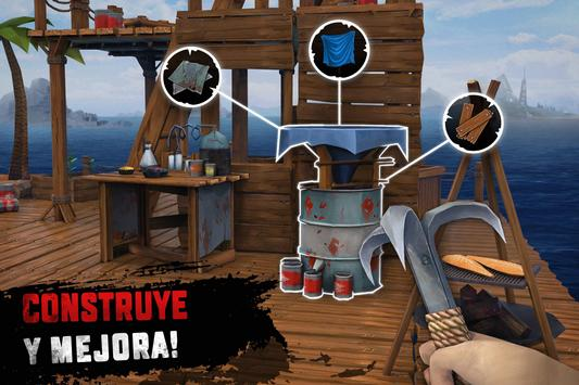 Raft Survival: Supervivencia en balsa - Nomad captura de pantalla 18