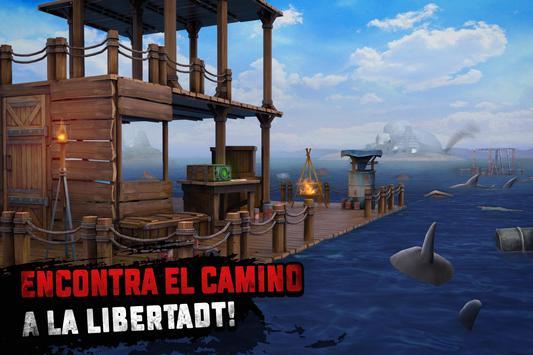 Raft Survival: Supervivencia en balsa - Nomad captura de pantalla 2