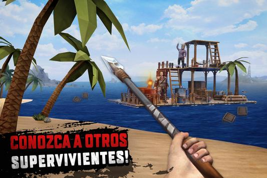 Raft Survival: Supervivencia en balsa - Nomad captura de pantalla 3