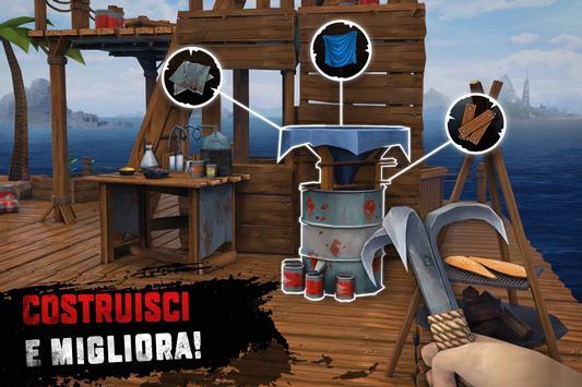 4 Schermata Raft Survival: Sopravvivenza su zattera - Nomad