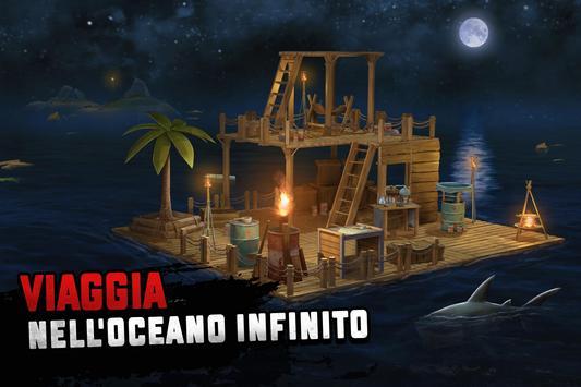 14 Schermata Raft Survival: Sopravvivenza su zattera - Nomad