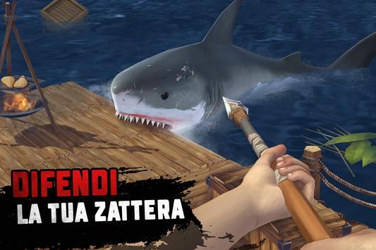 15 Schermata Raft Survival: Sopravvivenza su zattera - Nomad