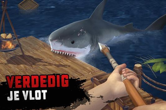Raft Survival: Overleven op een vlot screenshot 1