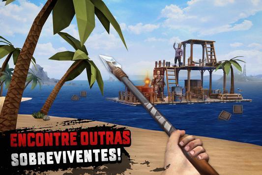 Raft Survival: Sobrevivência em jangada - Nomad imagem de tela 10
