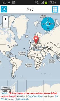 World Offline Map Earth Guide screenshot 1