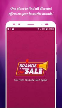Brands on Sale - Online Shopping, Deals & Offers poster