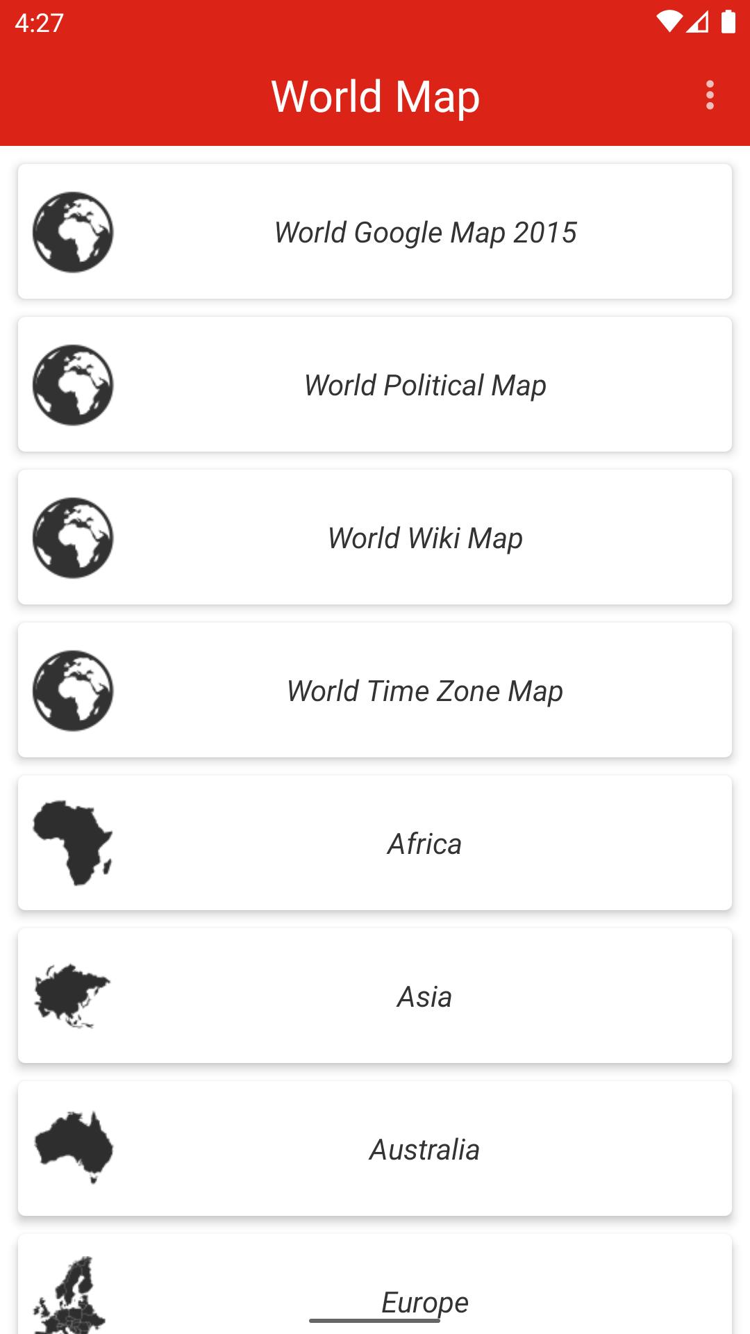 World Fline Map For Android APK Download