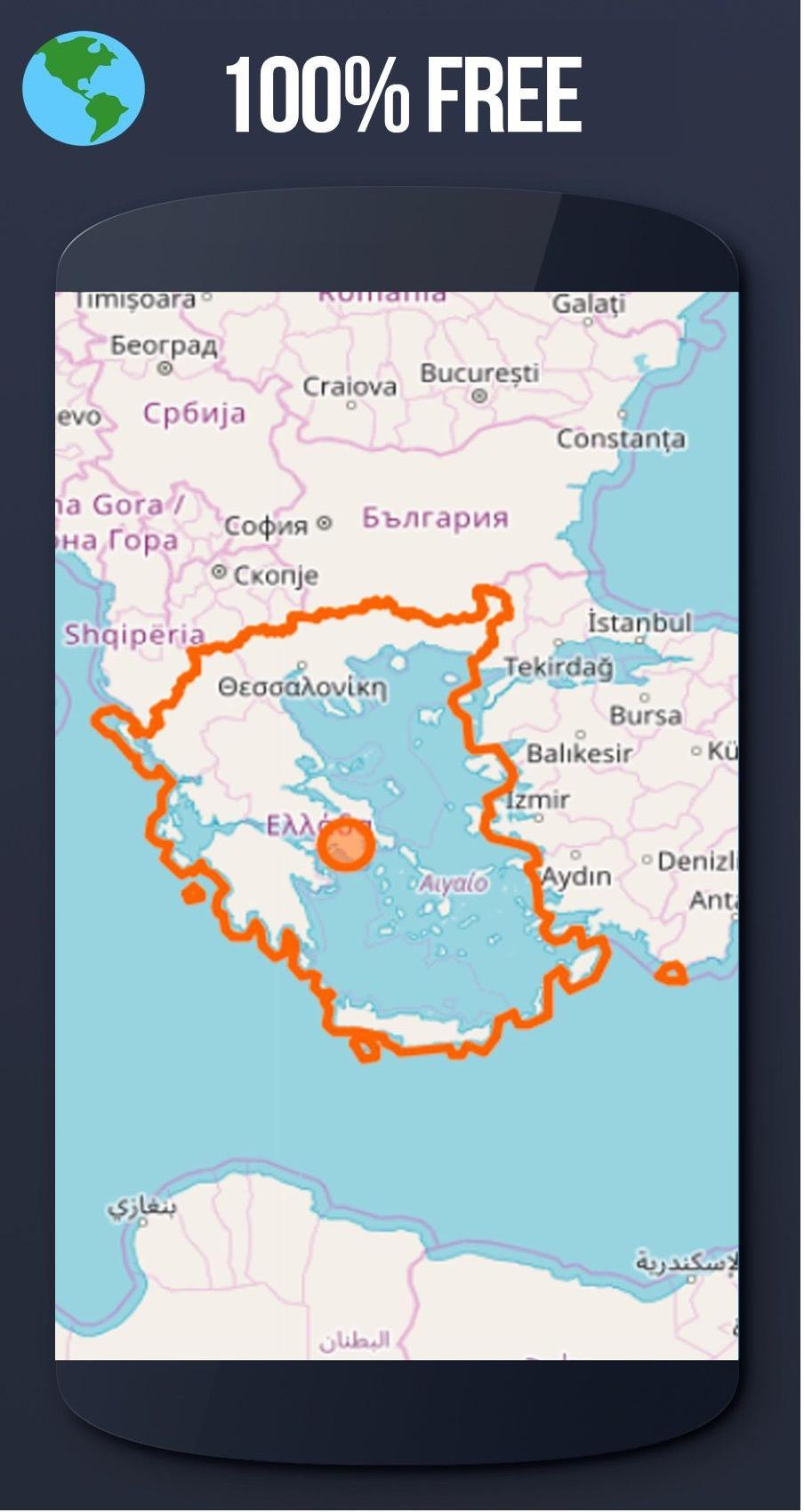 Greece Offline Maps With Gps Free For Android Apk Download