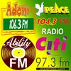 Adom 106.3 FM, Peace 104.3 FM, Nhyira FM, GhanaWeb icon