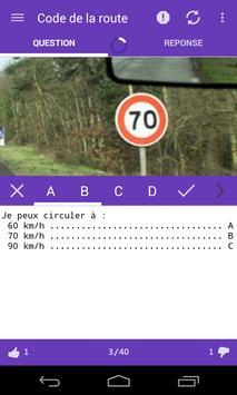 Le Code de la Route (gratuit) screenshot 1