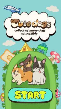 可愛的狗 - 收集盡可能多的狗- 海報