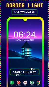 Border Light Wallpaper 2020 - Color Live Wallpaper poster