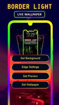 Border Light Wallpaper 2020 - Color Live Wallpaper screenshot 1