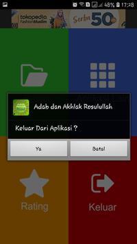 Adab dan Akhlak Rosulullah screenshot 5