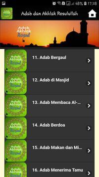 Adab dan Akhlak Rosulullah screenshot 7