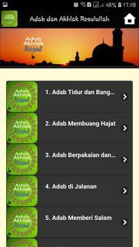Adab dan Akhlak Rosulullah screenshot 1
